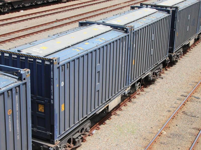 Container 20 pés 20ft graneleiro grains transporte trem ferroviário train transportation