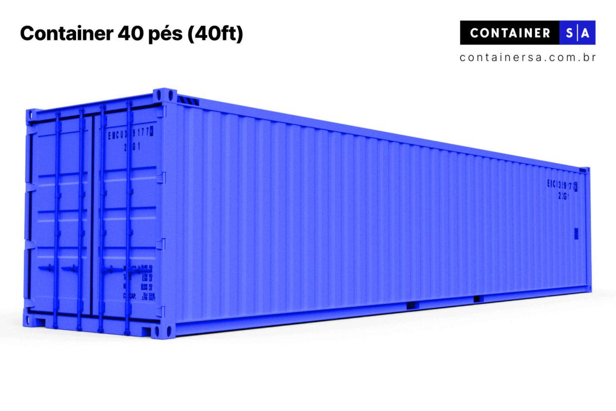 Container 40 pés 40ft para alugar comprar vender direto do fabricante melhor preço brasil