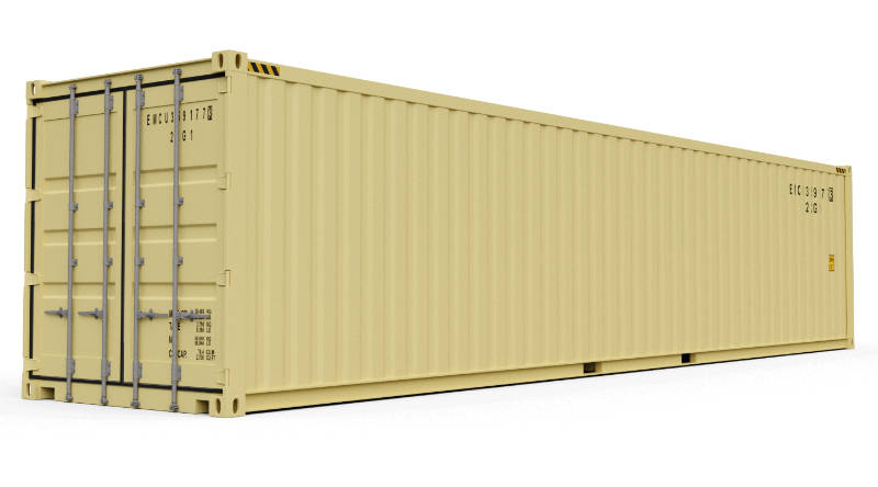 Container de 40 pés - Onde comprar ou alugar